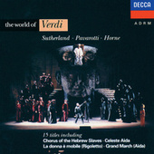 The World of Verdi by Various Artists
