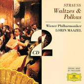 Strauss, Johann & Josef:: Waltzes & Polkas by Various Artists