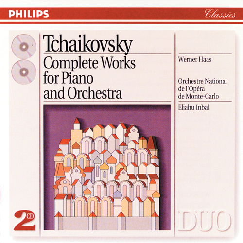 Tchaikovsky: Piano Concertos Nos. 1/3 etc. by Werner Haas