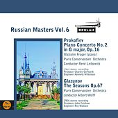 Russian Masters, Vol. 6 by Paris Conservatoire Orchestra