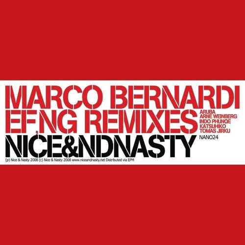 EF,NG Remixes by Marco Bernardi