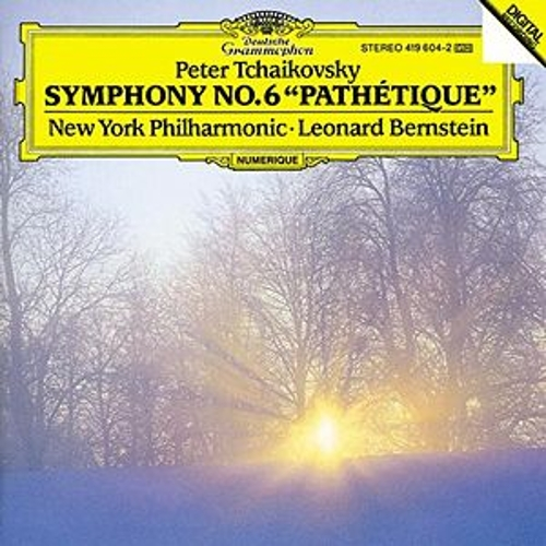 Tchaikovsky: Symphony No.6 'Pathetique' by New York Philharmonic