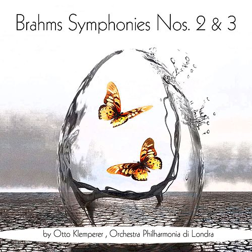 Brahms: Symphonies Nos. 2 & 3 by Otto Klemperer