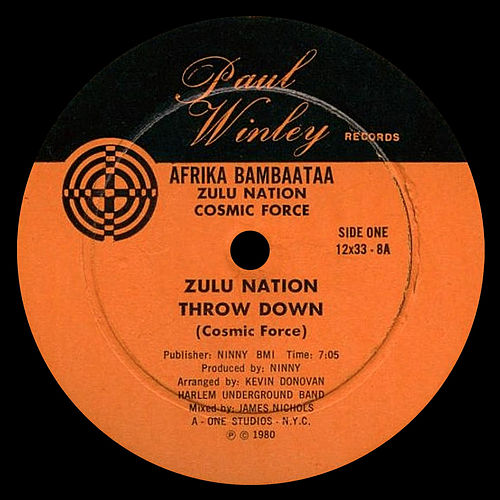 Zulu Nation Throw Down by Various Artists