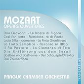 Mozart : Ouvertures d'opéras - Operas ouvertures by Prague Chamber Orchestra