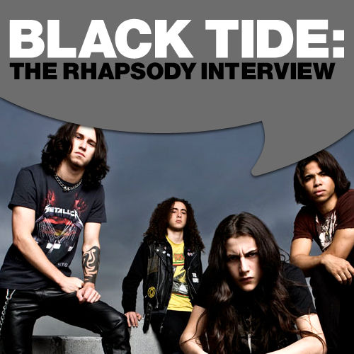 Black Tide: The Rhapsody Interview by Black Tide