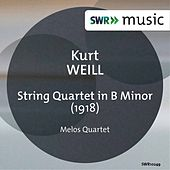 Weill: String Quartet in B Minor by Melos Quartett Stuttgart