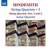 Hindemith: String Quartets, Vol. 3 by Amar Quartet