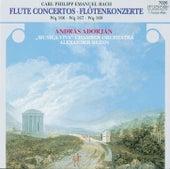 C.P.E. Bach: Flute Concertos by András Adorján