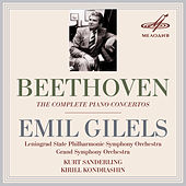 Beethoven: The Complete Piano Concertos by Emil Gilels