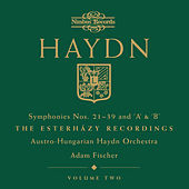 Haydn: Symphonies Nos. 21-39 & 'A' & 'B' - The Esterházy Recordings by Austro-Hungarian Haydn Orchestra