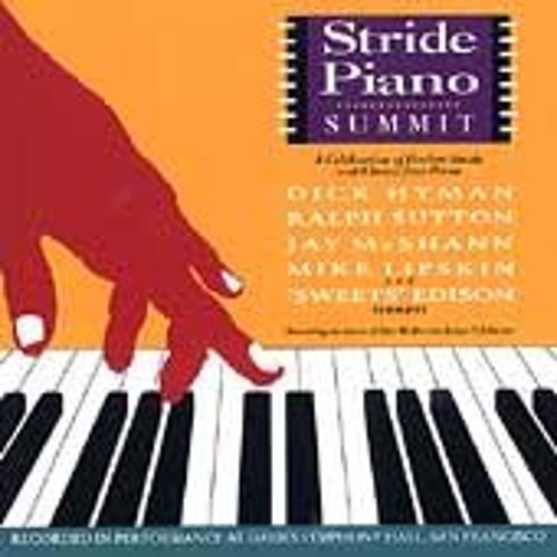 Stride Piano Summit: A Celebration Of Harlem... by Various Artists