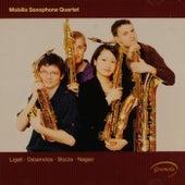 Ligeti: 6 Bagatelles - Desenclos: Quatuor - Bozza: Andante et scherzo - Nagao: Quatuor de Saxophones by Mobilis Saxophone Quartet