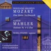 Mozart: Eine kleine Nachtmusik & Mahler: Symphony No. 4 von Concertgebouw Orchestra of Amsterdam