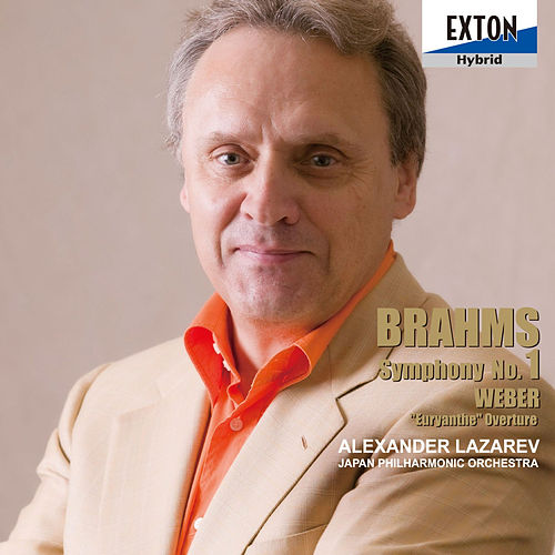 Brahms: Symphony No. 1, Weber: Euryanthe Overture by Japan Philharmonic Orchestra