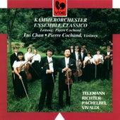 Telemann: Burlesque de Don Quixotte – Vivaldi: Concerto for 2 Violins in A Minor, RV 522 – Pachelbel: Canon in D Major – Richter: Symphony in G Major by Kammerorchester Ensemble Classico