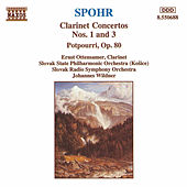 4600Clarinet Concertos Nos. 1 and 3 Potpourri by Louis Spohr