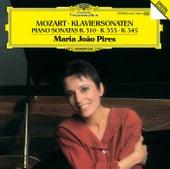 Mozart: Piano Sonatas K.310, K.333 & K.545 by Maria Joao Pires