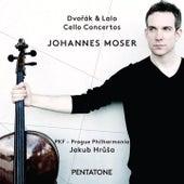 Dvořák & Lalo: Cello Concertos by Johannes Moser