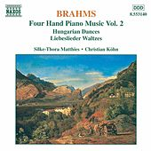 Four Hand Piano Music Vol. 2 by Johannes Brahms