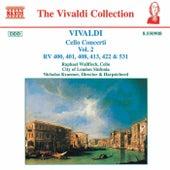Cello Concerti RV 400, 401, 408, 413, 422 & 531 by Antonio Vivaldi