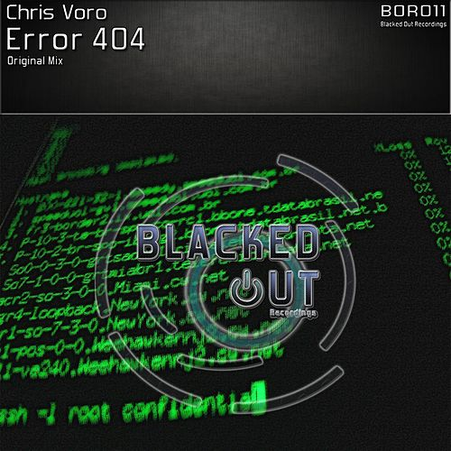 Error 404 by Chris Voro
