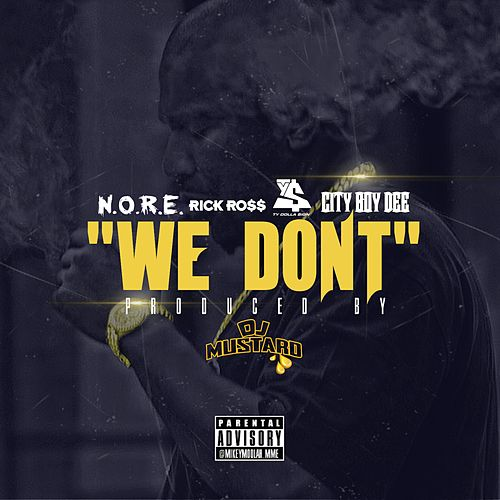 We Don't (feat. Rick Ross, Ty Dolla $ign, & City Boy Dee) - Single by N.O.R.E.