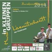 Livemittschnitt der Finalrunde - Musik in kleinen Gruppen Bundeswettbewerb 2014 by Various Artists