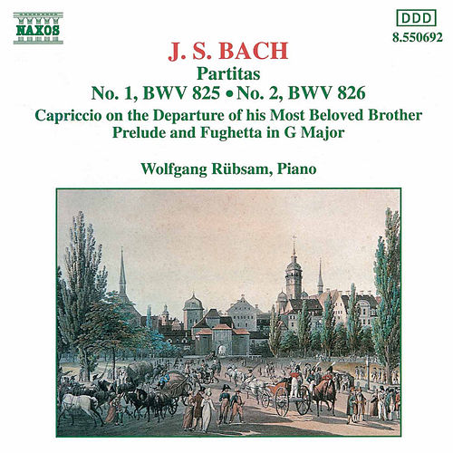 Partitas Nos. 1 and 2 by Johann Sebastian Bach