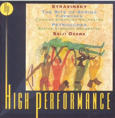 Petrochka / The Rite of Spring / Fireworks von Igor Stravinsky