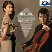Brahms: Sonatas for Violoncello and Piano No. 1 & No. 2, Schumann: Adagio and Allegro by Chiharu Sudo