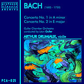 Bach: Concertos No. 1, BWV 1041 & No. 2, BWV 1042 by Arthur Grumiaux