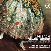 C.P.E. Bach, Graun & Hesse: Trios for Fortepiano & Viola da gamba by Lucile Boulanger
