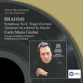 Brahms: Symphony No.4, Tragic Overture & Variations on a them by Haydn by Various Artists