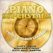 Piano Superstars, Three Golden Legends - Scott Joplin, Winifred Atwell, Jelly Roll Morton von Various Artists