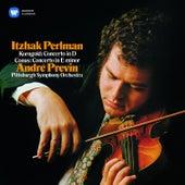 Korngold & Conus: Violin Concertos by Itzhak Perlman