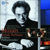 Mozart: Violin Concerto No. 3 & Symphony No. 41, 'Jupiter' by Itzhak Perlman