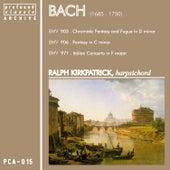 Bach: Harpsichord Recital by Ralph Kirkpatrick