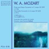 Mozart: Clarinet, Flute & Harp Concertos by Various Artists