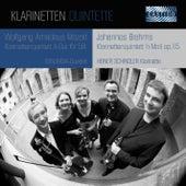 Mozart & Brahms: Clarinet Quintets by Heiner Schindler