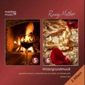 Hintergrundmusik (Vol. 5 & 6) - Gemafreie Musik zur Beschallung von Hotels & Restaurants [Inkl. Klaviermusik, Jazz & Chillout] by Ronny Matthes