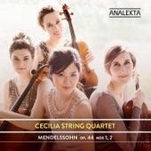 Mendelssohn: Op. 44, Nos. 1, 2 by Cecilia String Quartet