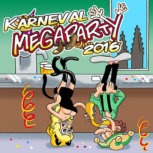 Karneval Megaparty 2016 by Karneval!