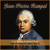 Carl Philipp Emanuel Bach:  Flute Concerto In D Minor, Wq. 83 by Jean-Pierre Rampal