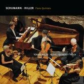 Schumann & Hiller: Piano Quintets by Tobias Koch and Pleyel Quartett Köln