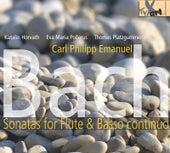 C.P.E Bach: Flute Sonatas by Katalin Horvath