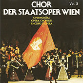 Chor Der Staatsoper Wien Vol 3 by Various Artists