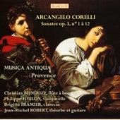 Corelli: Sonatas for flute and basso continuo, Vol. 1 by Musica Antiqua Provence