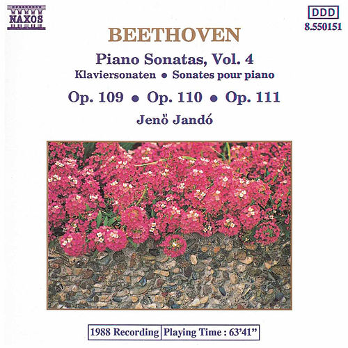 Piano Sonatas Vol. 4 by Ludwig van Beethoven