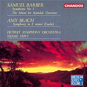 BARBER / BEACH: Orchestral Works by Neeme Jarvi
